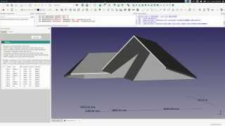 Freecad : Roof Builder / Outil Toit
