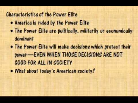power elites essay