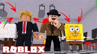 ROBLOX FUNNY MOMENTS! WOULD YOU RATHER? Donald Trump, Spongebob, EA, Pixar and more!