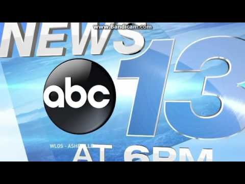 WLOS News 13 at 6pm open January 10, 2017