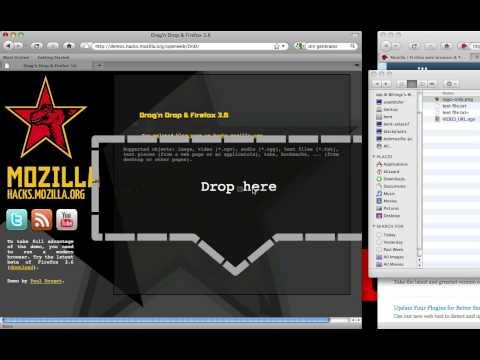 Firefox 3.6 Drag and Drop and File API demo