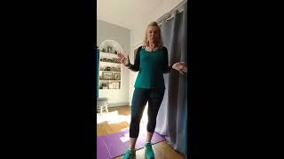 N°1A /By Sylvie FREGEZ/Cours de gym d'entretien Basic