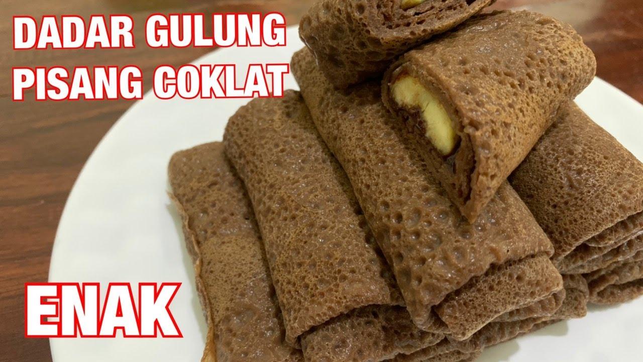 Resep Dadar Gulung Pisang Coklat Untuk Jualan Youtube