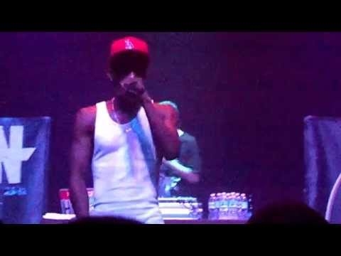Hopsin - Lunch Time Cypher & Old Friend (Live - Orlando 3/6/14)