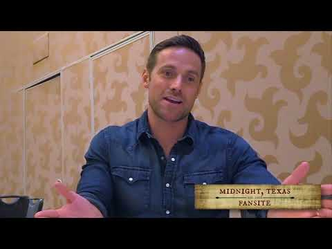 """Dylan Bruce talks """"blissed out Bobo"""" in Midnight, Texas season 2"""