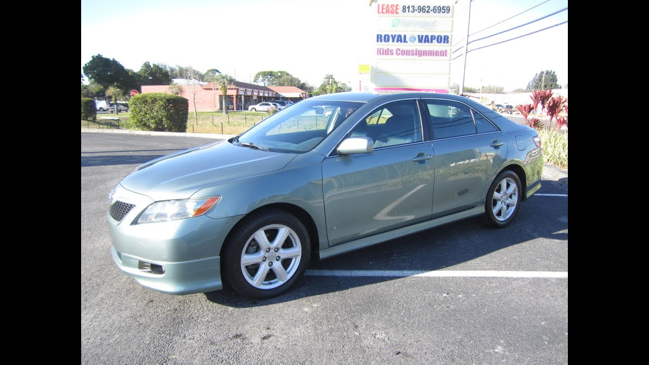 Toyota For Sale By Owner >> Sold 2007 Toyota Camry Se 97k Miles One Owner Meticulous Motors Inc Florida For Sale