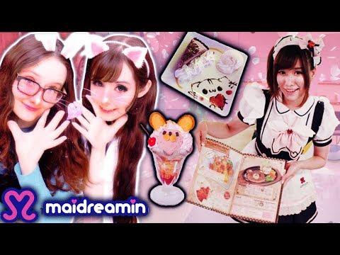 I went to a Maid Cafe?!  Maidreamin, Karaoke, Purikura & Arcades! | Alice LPS