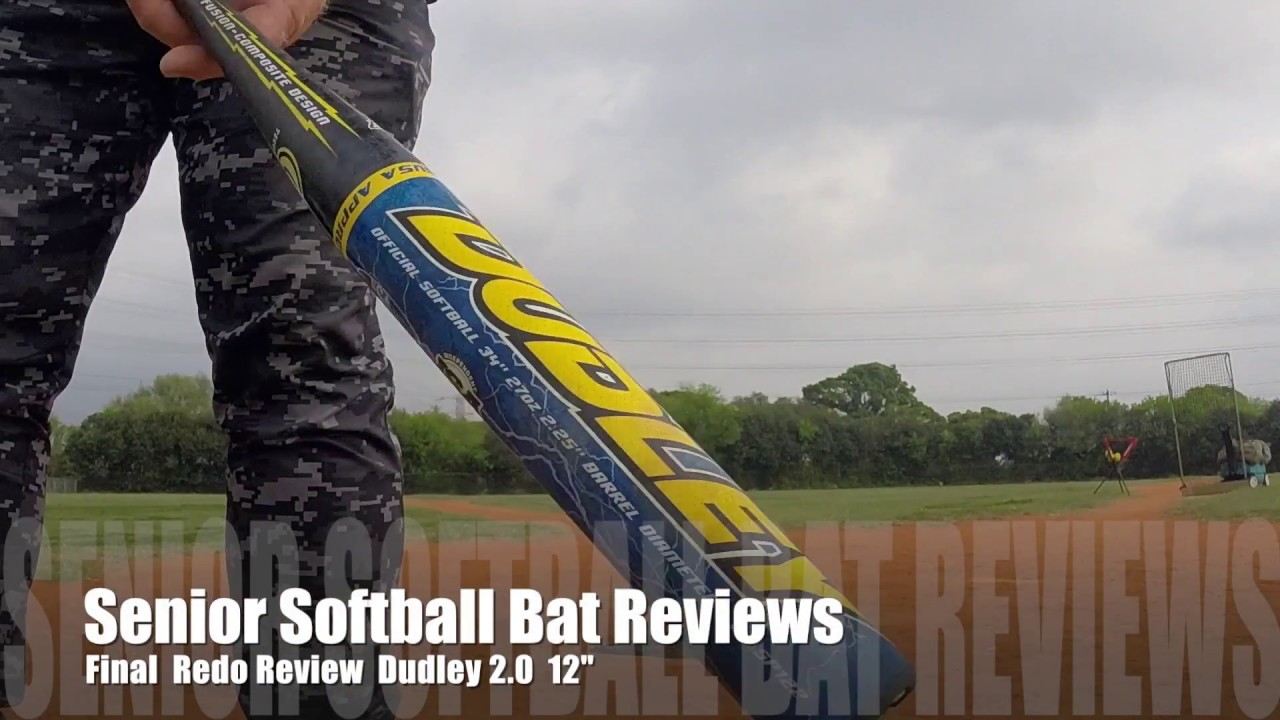 Senior Softball Bat Reviews Dudley 2 0 12 Last Redo Video