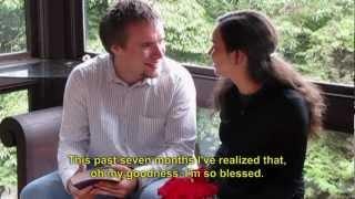 Romantic Christian Proposal