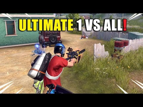ROS Ultimate 1 VS ALL Kill Montage! (Rules Of Survival)