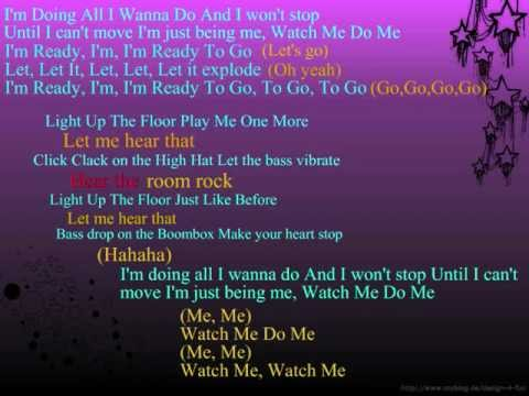 Bella Thorne & Zendaya - Watch Me - Karaoke (Lyrics)