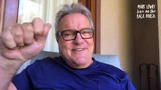 Mark Lowry is LIVE from his wheelchair...