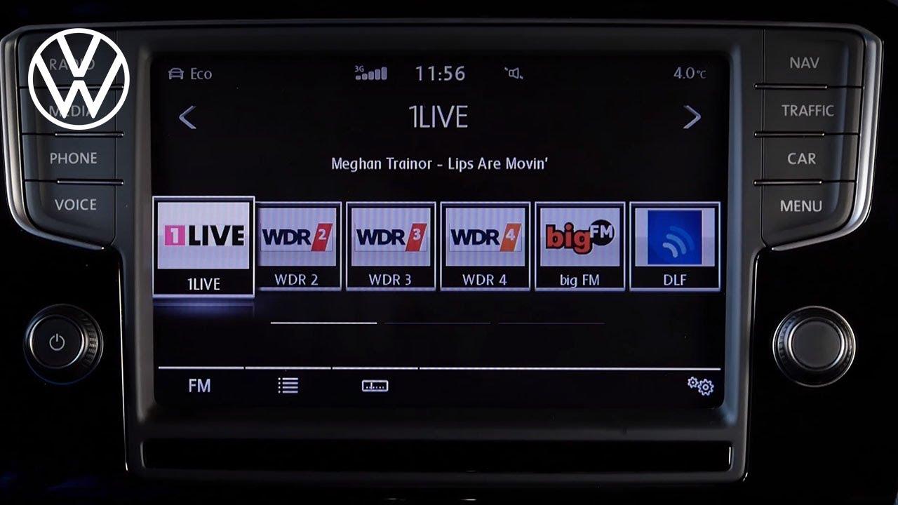 Radio - Easy to understand | Volkswagen