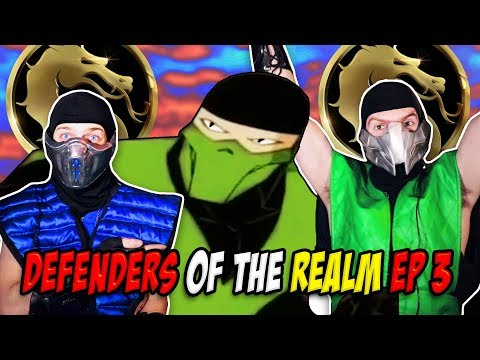 Reptile & Sub-Zero React - DEFENDERS OF THE REALM 3 | MORTAL KOMBAT X PARODY! thumbnail