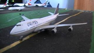 Video Herpa Model Plane United Boeing 747-400 N128UA In 1:500 Scale download MP3, 3GP, MP4, WEBM, AVI, FLV Agustus 2018