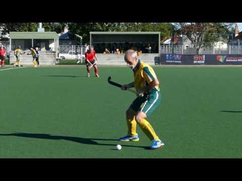 Australia 3 Germany 0. Semi Final. Grand Masters World cup Newcastle, Australia 2016