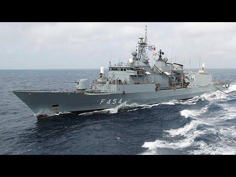 Mediterranean Heats up, Greek Navy Ships Shooting Turkish Ships