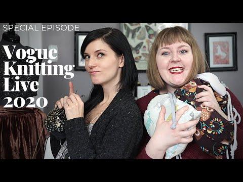 """VOOLENVINE: Special Episode - """"Vogue Knitting Live 2020"""""""