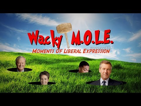 Wacky MOLE: Liberal Media Upset By Trump Supporters