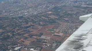 Flying into Israel - August 26, 2019