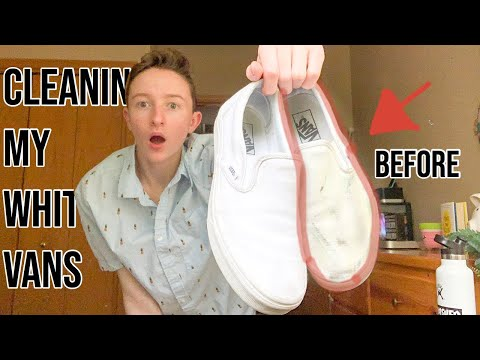 Testing The *BEST* Natural Methods For Cleaning WHITE Vans!