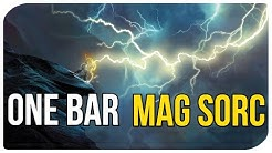 ESO Solo PVE Magicka Sorcerer Build - The ULTIMATE ONE BAR Solo Pet Sorc Build for ESO!!