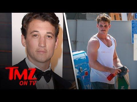 Miles Teller Looks Buff as He Films 'Top Gun: Maverick' | TMZ TV