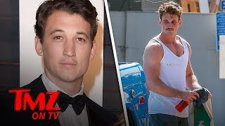 Miles Teller Looks Buff as He Films 'Top Gun: Maverick' | TMZ TV