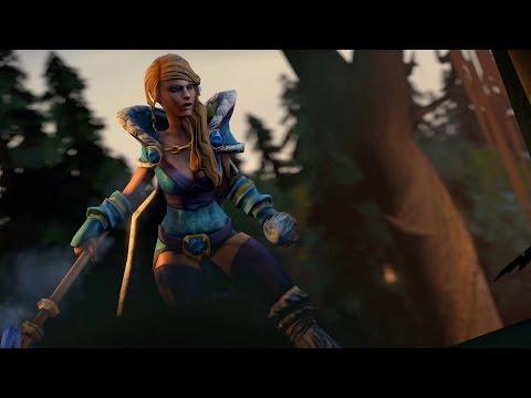 видео: dota 2 - snow queen для crystal maiden