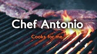 CHEF ANTONIO MORA... Cooks for me!