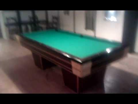 Hypermoderne Billard bord med varme 1/4 match -billardbordet står i Helsingør SO-57