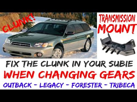 How To Fix Annoying Clunk Subaru Outback Impreza Legacy Forester