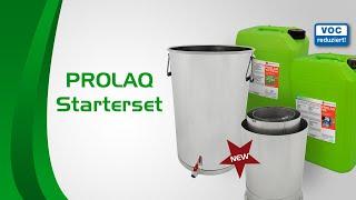 PROLAQ  L400 - innovatives Reinigungs System für Lackiergeräte wie Pistolen etc.