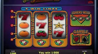 5 Line Jokers fruitmachine - Online Casino Slots