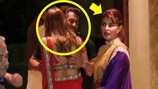 Salman Khan HUGS Hot Woman & Ignores Jacqueline Fernandez At Sanjay Dutt's Diwali Party 2017
