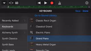 How to make Clout by Offset feat Cardi B on GarageBand iOS