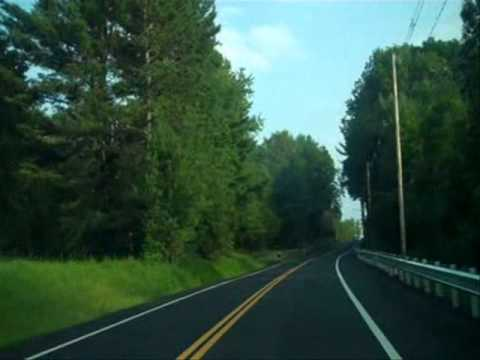 Massachusetts State Route 169 - New England Scenic Byway Route- Song: Ghost Riders In The Sky