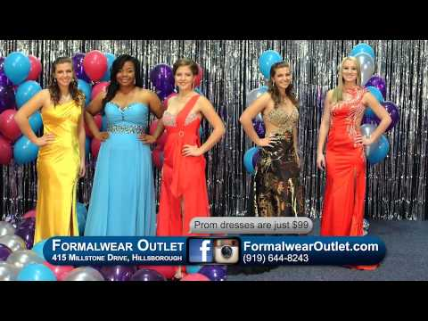 Formalwear Outlet 2015 Prom Dresses &amp- Tuxedos - YouTube