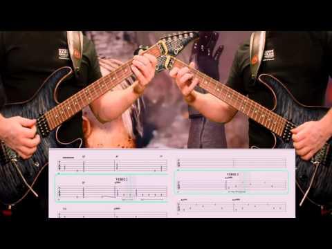 Dokken Dream Warrior Guitar Cover with Tablature