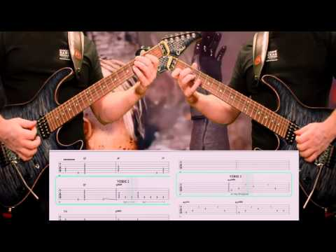 Dokken Dream Warrior Guitar Cover with Tablature