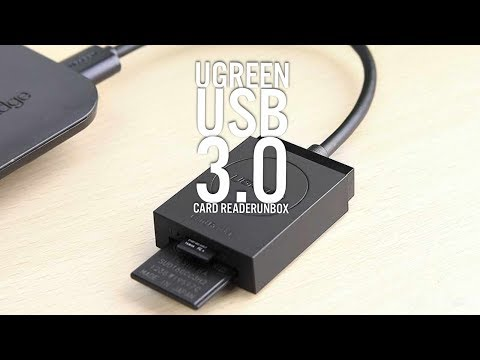 Ugreen USB 3 Card Reader Unbox And Connect To Ipad Pro Test