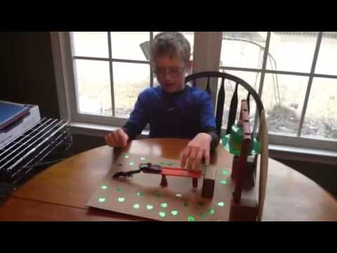4 clovers and leprechaun traps using simple machine