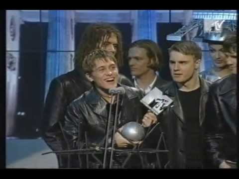 """Take That win Best Group at MTV Europe Music Awards 1994 + Perform """"Sure"""""""