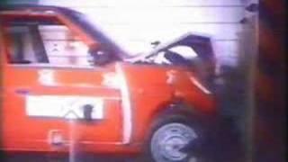 Skoda crash testing