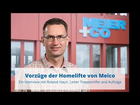 Homelifte von Meico | Vorteile und Kosten im Überblick | Ein Interview mit Roland Hauri
