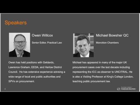 Thomson Reuters Procurement Live Webinar