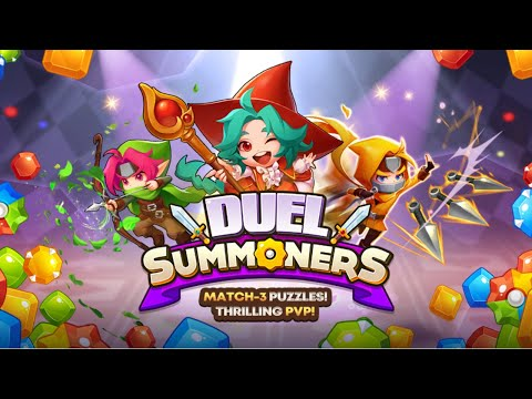 Duel Summoners – Puzzle & Tactic