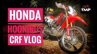 CRF 250L - Honda hoonings! Why the GoPro Hero 7 is naff for vloggers and drone update....