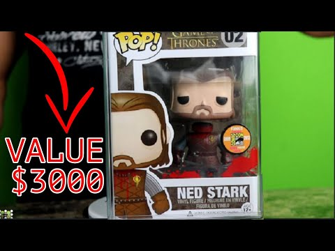 10 Rarest Game Of Thrones Funko POP Figures (And How Much They're Worth)