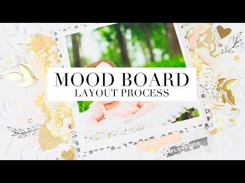 HND JANUARY MOOD BOARD  LAYOUT - PROCESS VIDEO